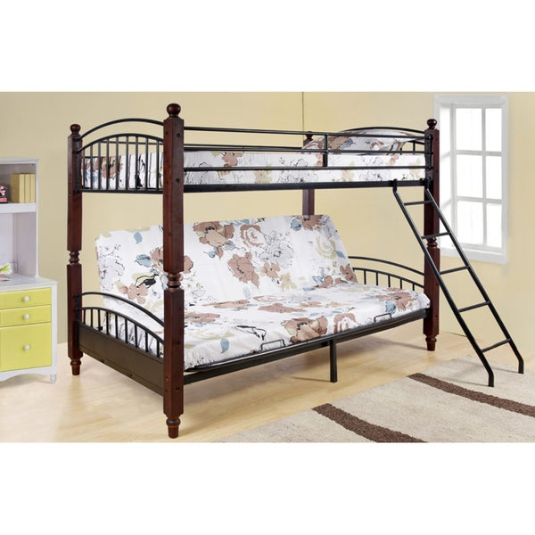 Shop Twin Futon Modular Bunk Bed Free Shipping Today Overstock