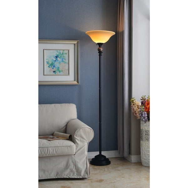 Avery 1-light Torchiere Lamp