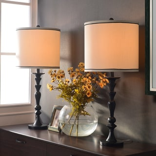 Frazer Graphite Table Lamps (Set of 2)