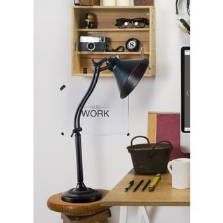 Marr Oil Rubbed Bronze Adjustable Desk Lamp