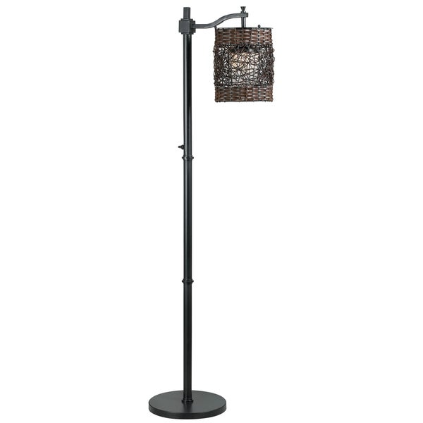 omari oil rubbed bronze indoor outdoor floor lamp free. Black Bedroom Furniture Sets. Home Design Ideas
