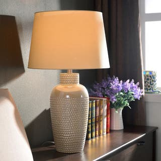 Design Craft Bindy 28-inch Iridescent Ceramic Table Lamp|https://ak1.ostkcdn.com/images/products/7896608/P15277196.jpg?impolicy=medium