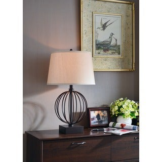 Adelaide' 26-inch High WIth Oil Rubbed Bronze Finish Table Lamp