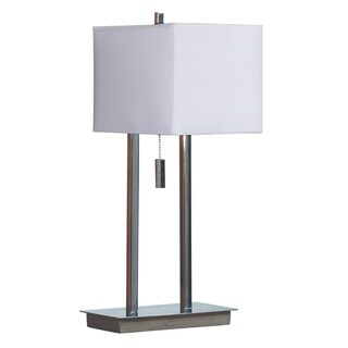 'Sturbridge' Chrome Finish Accent Lamp