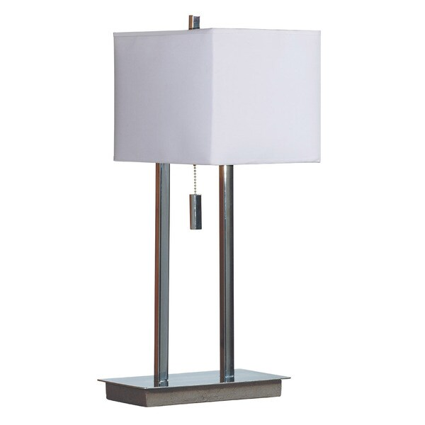 Clay Alder Home Susitna Chrome Finish Accent Lamp
