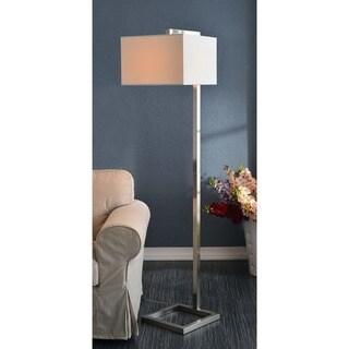 Design Craft Ronson Brushed Steel 64-inch Floor Lamp