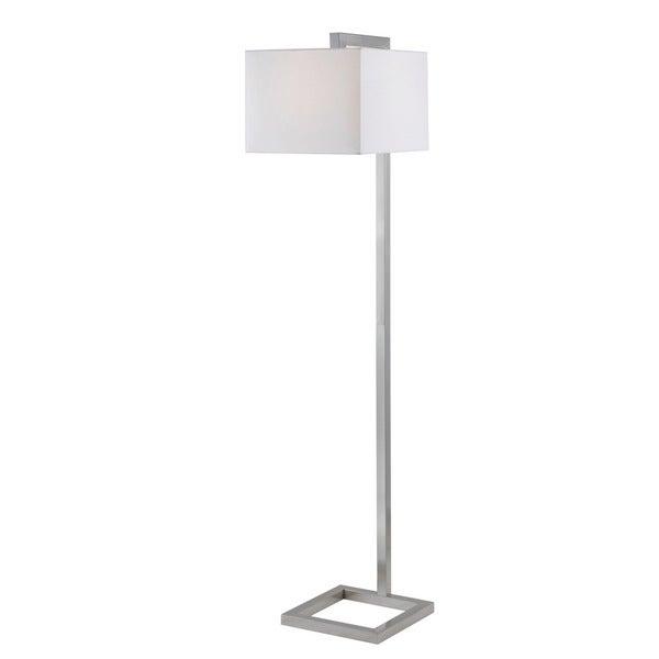 Ronson Brushed Steel Finish Floor Lamp