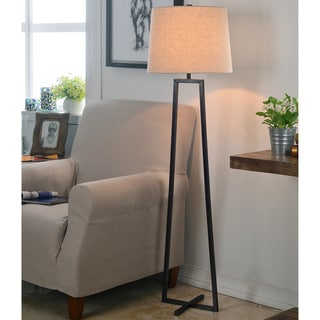 Design Craft Ahearn Oil Rubbed Bronze 58-inch Floor Lamp