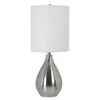 Molson Brushed Steel Modern Table Lamp