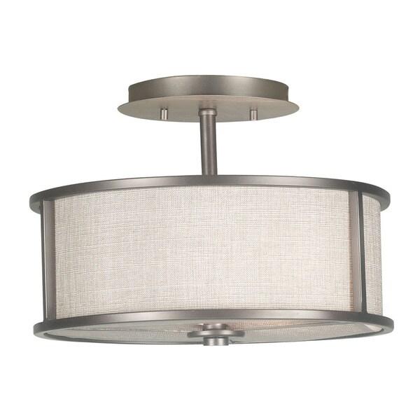Shop Scopello 2-Light Semi Flush Light Fixture