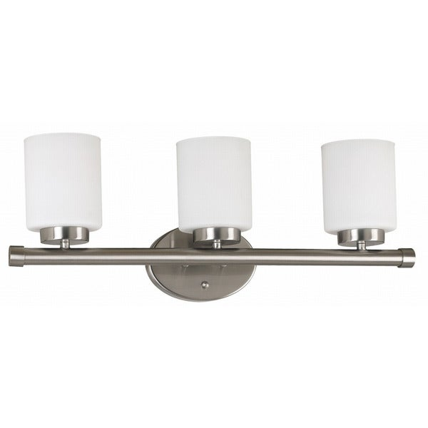 Cupello 3-light Frosted Glass Vanity Fixture