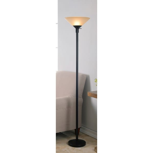 Dai Torchiere' Oil Rubbed Bronze Floor Lamp - Free Shipping Today ...