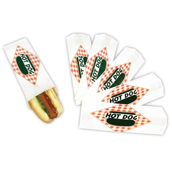 Paragon Standard Hot Dog Paper Bag (Set of 1,000)