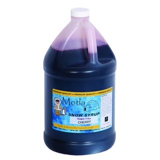 Motla 1-gallon Sugar-free Cherry Snow Cone Syrup