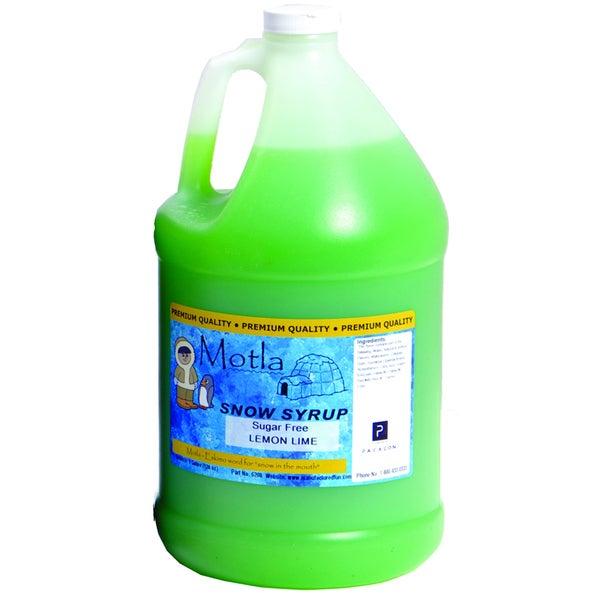 Motla 1-gallon Sugar-free Lemon Lime Snow Cone Syrup