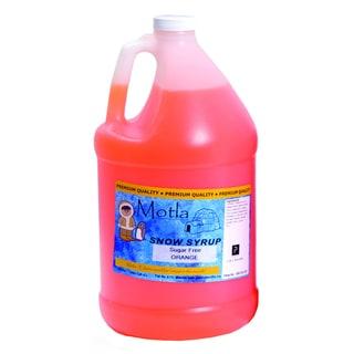 Motla 1-gallon Sugar-free Orange Snow Cone Syrup