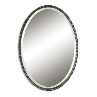 Uttermost Sherise Bronze Oval Mirror