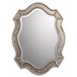 Uttermost Felicie Oval Gold Mirror