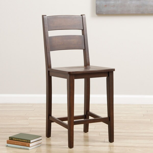 Cooper 24 Inch Deep Chocolate Stool Free Shipping Today