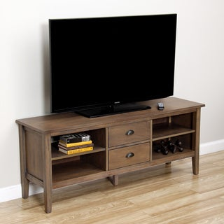 Cooper Provence with Black Grain Media Stand