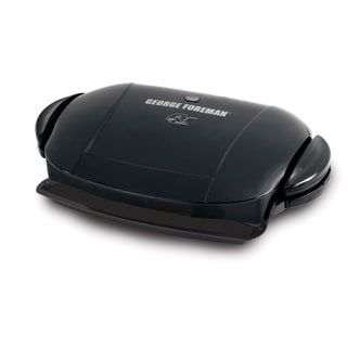 Link to George Foreman  72 sq. in. Nonstick Surface Grill With Removable Grilling Plates  Black Similar Items in Kitchen Appliances