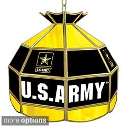 U.S. Army 16-inch Tiffany Style Lamp