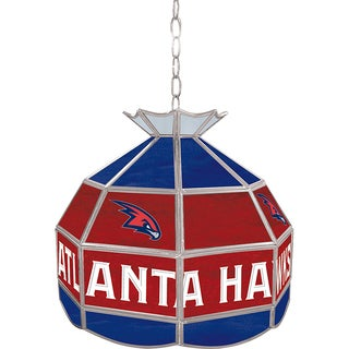 NBA 16-inch Tiffany-style Indoor Lamp