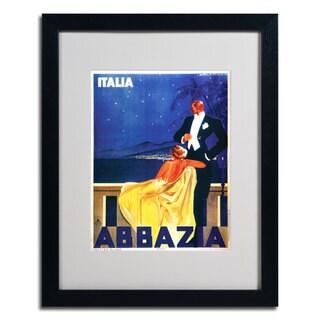 'Italia Abbazia' Framed Matted Art