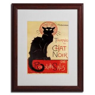 Theophile Steinlen 'Tournee du Chat Noir' Fully-Assembled Framed Matted Art
