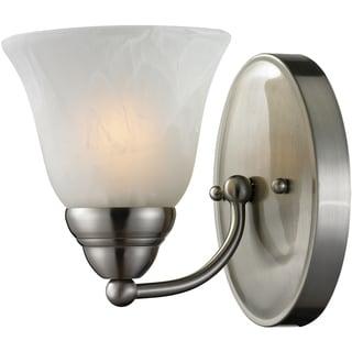 Athena Satin Nickel Finish 1-light Vanity Light