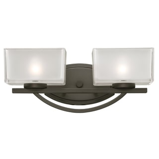 Cardine Painted Bronze 2-light Vanity Light