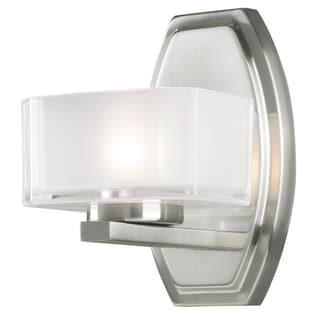 Cabro Brushed Nickel 1-light Vanity Light