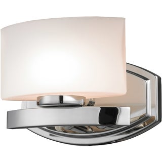 Galati Chrome 1-Light Square Vanity Fixture