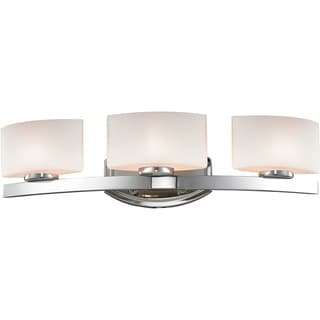 Galati Chrome 3-Light Square Vanity Fixture