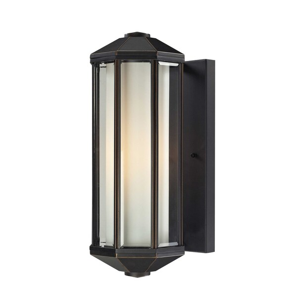 Cylex Oil Rubbed Bronze 1-light Outdoor Wall Fixture