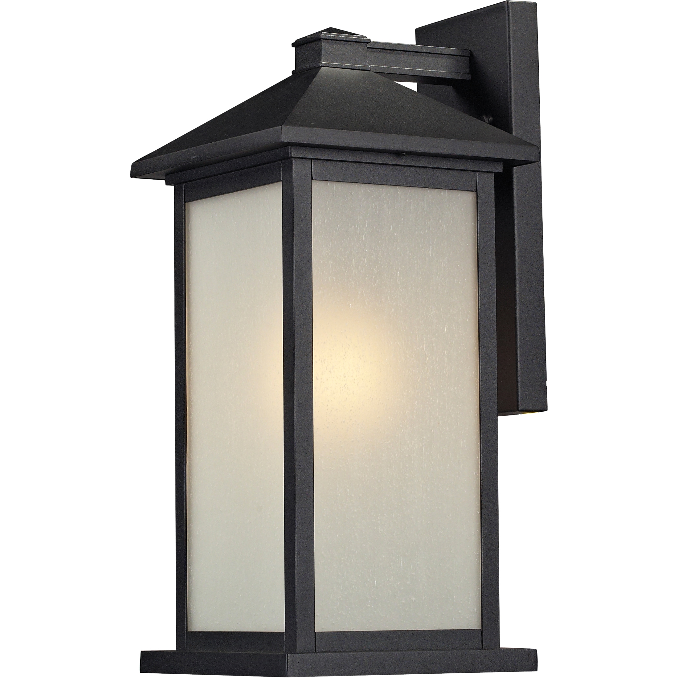 Shop Vienna Black Outdoor Wall Mount Light Fixture - On Sale ...