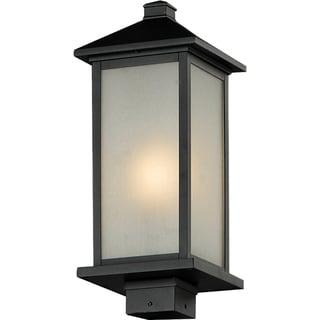 Vienna Black Outdoor 1-light Post Light Head