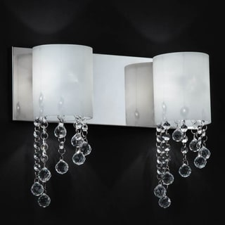 Jewel Chrome 2-light Vanity