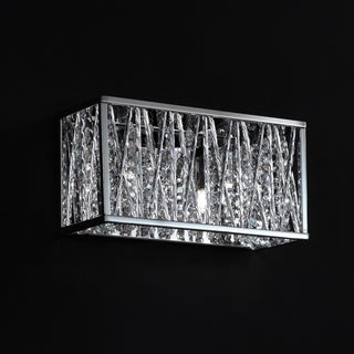 Terra Chrome Two-Light Vanity Fixture