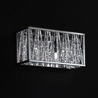 Terra Chrome Two-Light Vanity Fixture