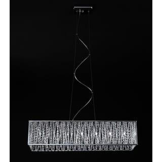 Terra Chrome Seven-Light Fixture
