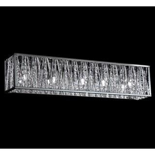 Terra Chrome Five-Light Vanity Fixture
