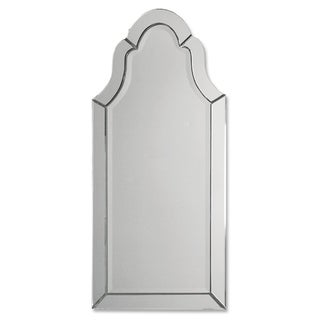 Uttermost Hovan Frameless Arched Mirror
