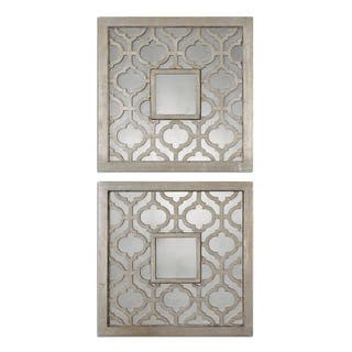 Square mirrors for less for Decorative mirrors for less