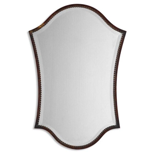 Uttermost 'Abra' Bronze Vanity Mirror