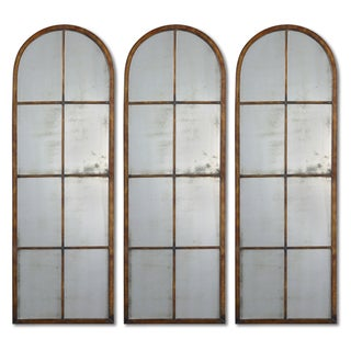 uttermost arched brown mirror one - Uttermost Mirrors