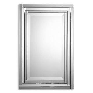 Uttermost 'Alanna' Frameless Vanity Mirror - Silver