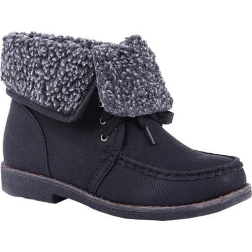 Women's Reneeze Alice-05 Black Booties - Thumbnail 0
