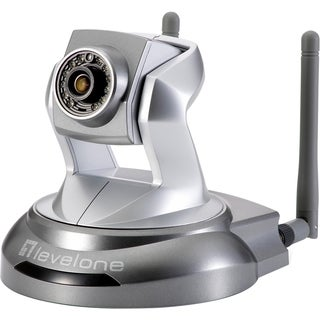 LevelOne 2-MP WCS-6020 Wireless N 150Mbps P/T IP Camera (Day/Night/In
