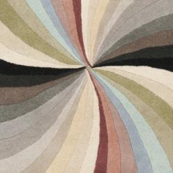 Safavieh Handmade Soho Vortex Modern Abstract Wool Runner Rug (2' 6 x 8') - Thumbnail 2
